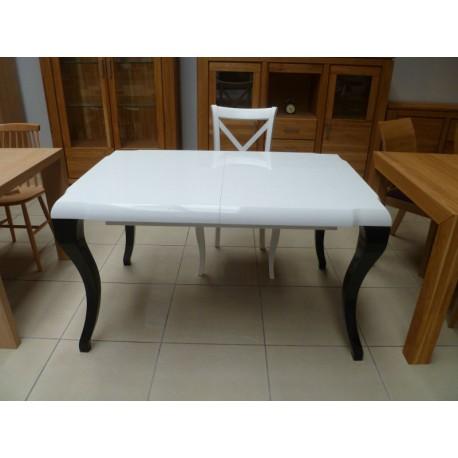 Stół rozkładany Diana biały - Wyprzedaż -35%