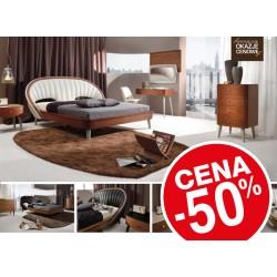 Designerskie łóżko - WYPRZEDAŻ -50% z 5800 na 2900zł