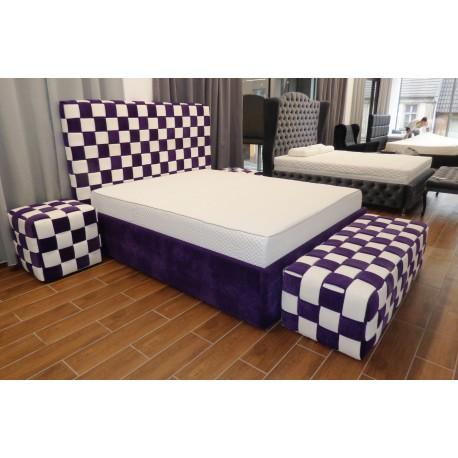 Łóżko tapicerowane Split