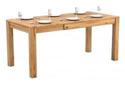 Pełny Lity Dąb - Stół rozkładany - 3 rozmiary