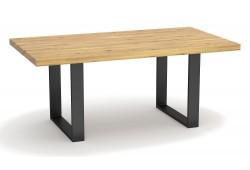 Pełny Lity Dąb - Stół nierozkładany - 4 rozmiary
